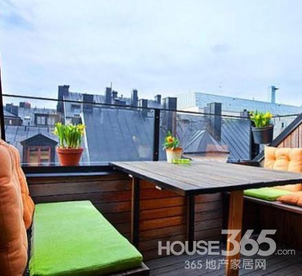 阳台搭建阳光房 休闲娱乐的好去处图片